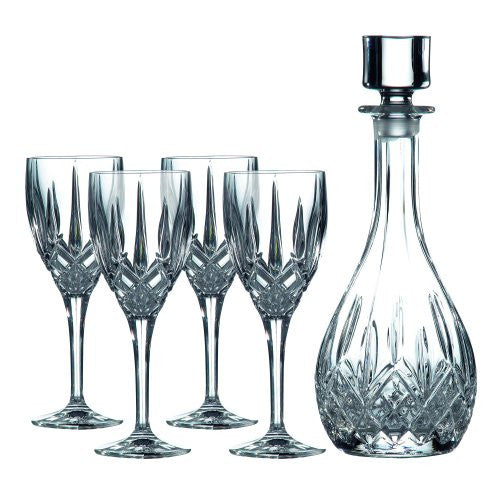 DECANTER SETS WINE DECANTER WITH WINE SET/4