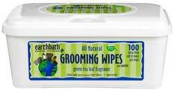 EARTHBATH Grooming Wipes - Green Tea - 100ct