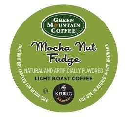 Green Mountain Coffee® Mocha Nut Fudge Coffee K-Cup® Packs, 24/Bx