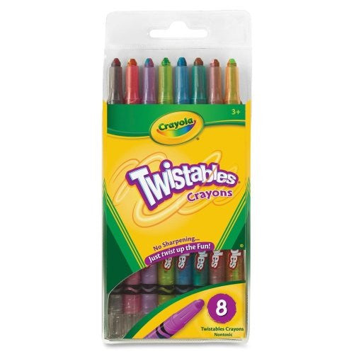 TWISTABLE CRAYONS 8CT (24)