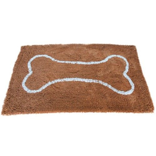 "Soggy Doggy 36"" x 60"" Microfiber Chanille Doormat for wet dog paws, XLarge, Caramel"