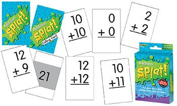 Math Splat Game, Addition