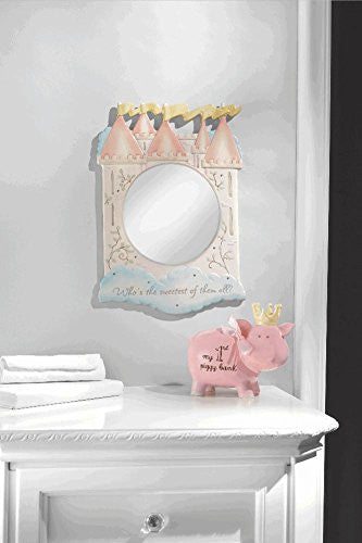 "Princess Castle Frame Mirror ""Sweetest of them all"""