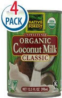 Native Forest Coconut Milk At least 95% Organic (13.5 oz.)