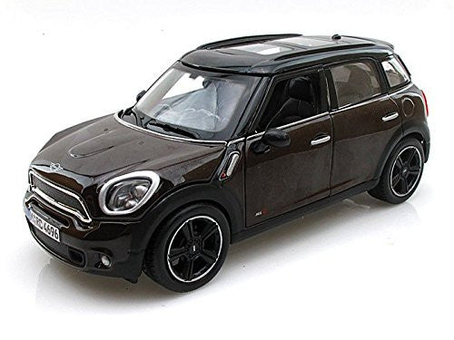 Maisto - Mini Cooper Countryman with Sunroof (1/24 scale diecast model car, Brown)
