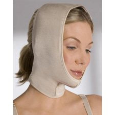 Face And Neck Wrap-Beige-Small/Medium