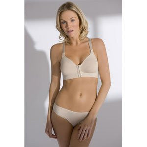 Post-Surgical Softcup Bra-Beige-34C