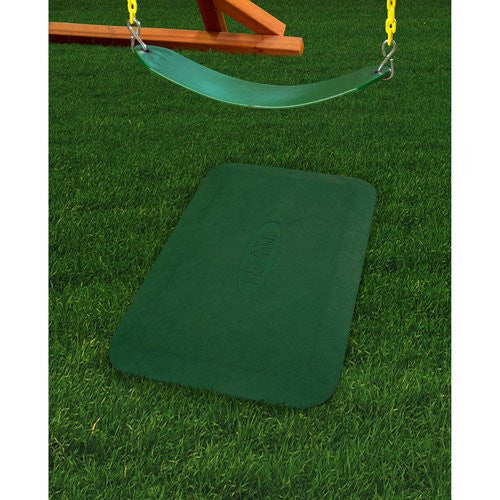 Rubber Ground Protection Mat (2-pcs.), Green