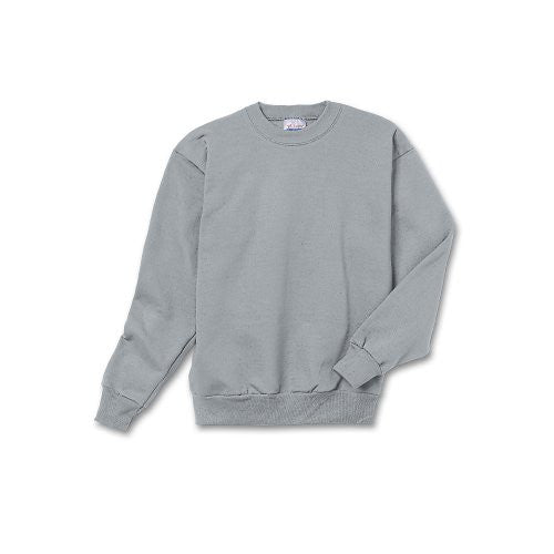 Hanes Youth ComfortBlend Long Sleeve Fleece Crew - p360 (Light Steel / Small)