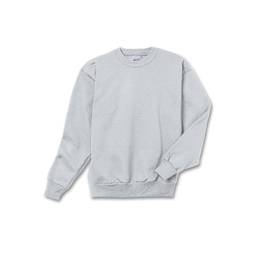 Hanes Youth ComfortBlend Long Sleeve Fleece Crew - p360 (Ash / X-Small)