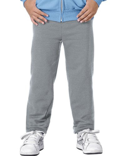 Hanes Youth ComfortBlend Fleece Sweatpant- p450 (Light Steel / X-Small)