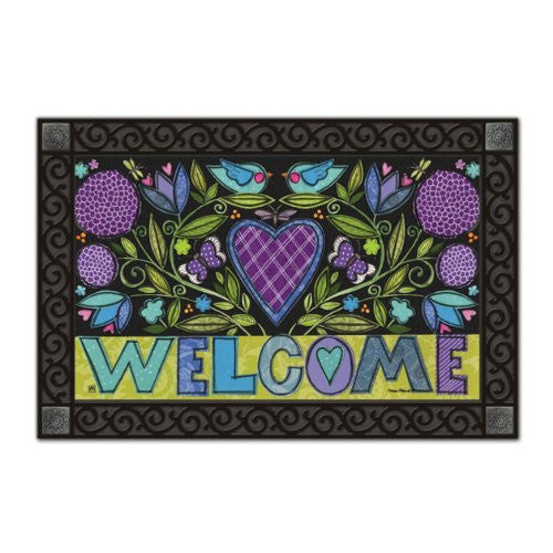 "Heartfelt Welcome Mat Mate, 18"" x 30"""