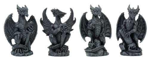 Small Dragons Set of 4