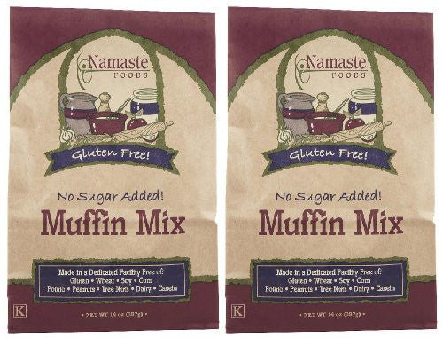 MUFFIN MIX SGR/GL FREE - 14 oz