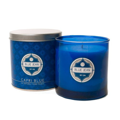 Capri Blue 7.5 oz Candle, Blue Jean