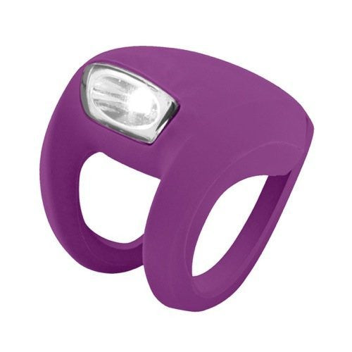 KNOG FROG STROBE FRONT GRAPE