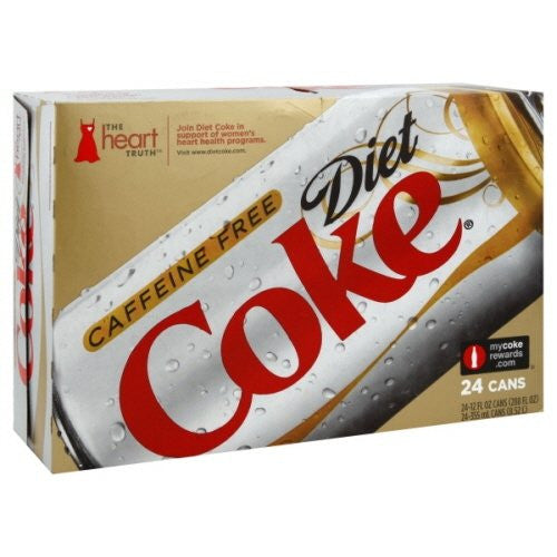 Caffeine-Free Diet Coke®, 12 oz. Cans, 24/Ct