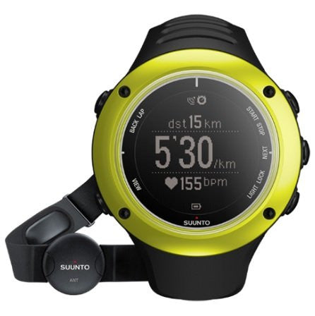 Ambit2 GPS Watch & Heart Rate Monitor (Color: Lime)