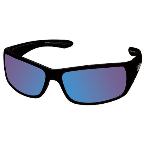 Cutthroat Matte Black Brown TAC-Tical Polarized w. Ice Blue Mirror