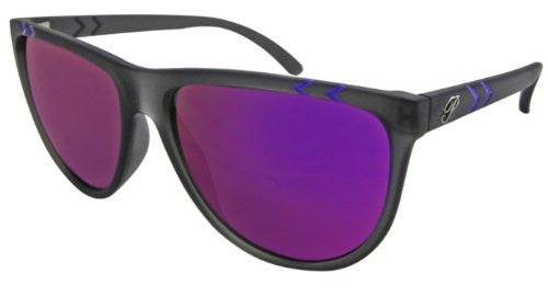 Julie Matte Crystal Grey, Brown TAC-Tical Polarized w. Diamond Purple Mirror