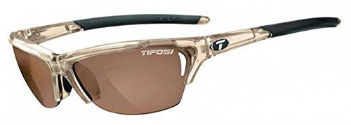 Tifosi Radius Wrap Sunglasses (Crystal Brown/Brown Polarized Fototec / One Size)