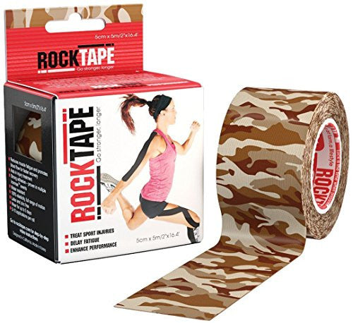 "RockTape - 2"" x 16.4' - Brown Camouflage"
