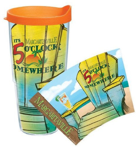 Margaritaville - Adirondack Chair Wrap with Lid 24oz  Tumbler