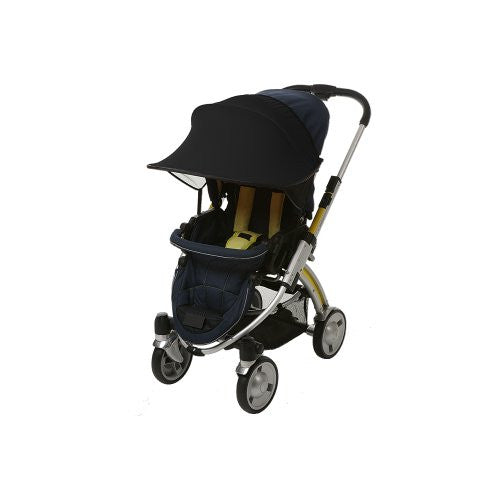 Sun Shade for Stroller and Car Seat, Black
