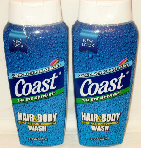 Coast Pacific Force Body Wash 18 oz.