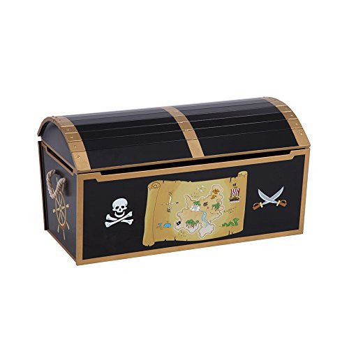 Pirate Treasure Chest (Personalization Available)