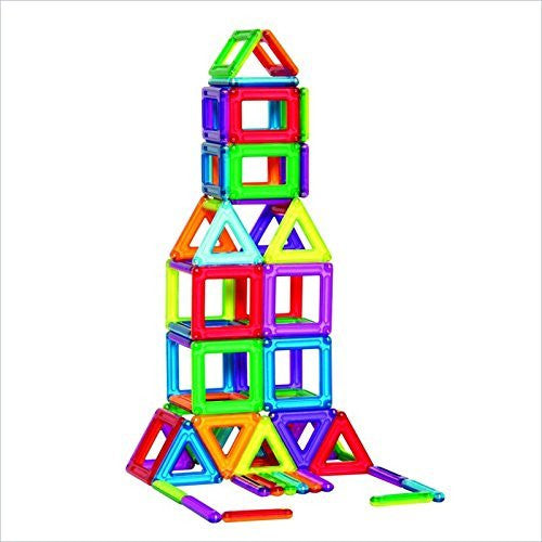 PowerClix Magnetic 3D Building System - 68 Pieces
