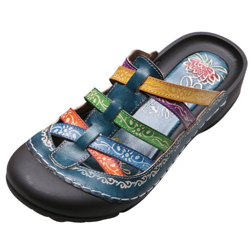 Corkys Women's Rock Sandals Blue,8 B(M) US,Multi