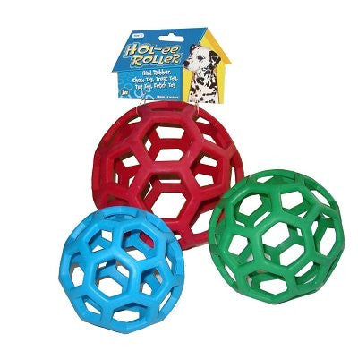 "JW Pet Hol-ee Roller Ball Large 6.5"" (colors vary)"