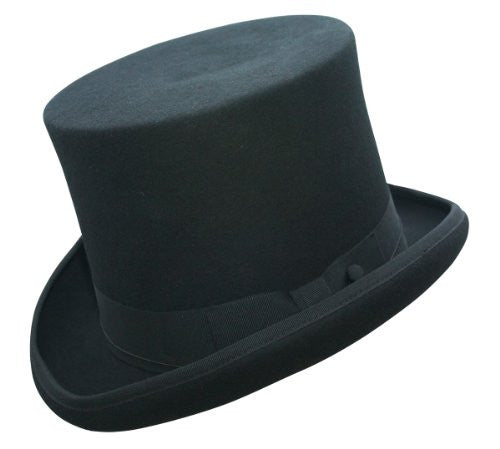 Edward Top Hat - Black, X-Large