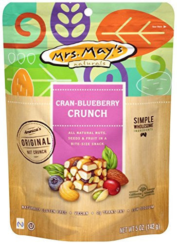 Mrs. May's Crunch, Cran Blueberry, 5 Ounce