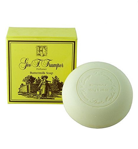 Geo F. Trumper Buttermilk Bath Soap 150g (single tablet)