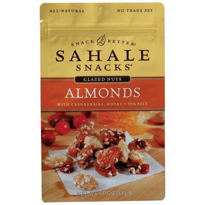 Almond Nuts, Glazed 4.0 OZ (Pack of 6)