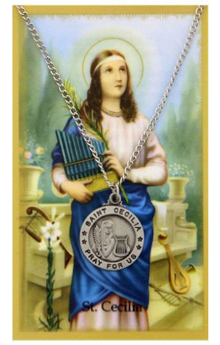 St. Cecilia Prayer Card Set