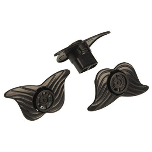 MOUSTACHE SIREN WHISTLES - 12pcs