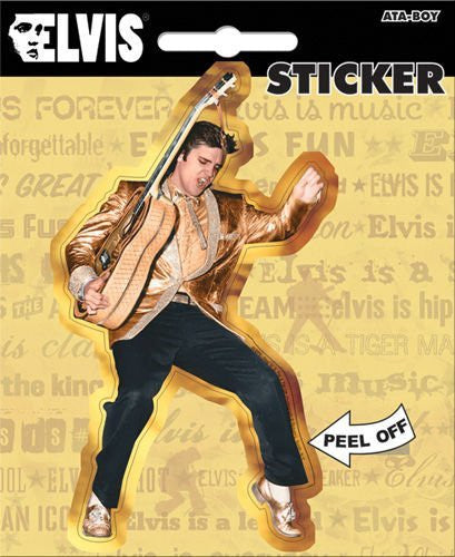 Elvis Black Pants-DIE CUT STICKERS
