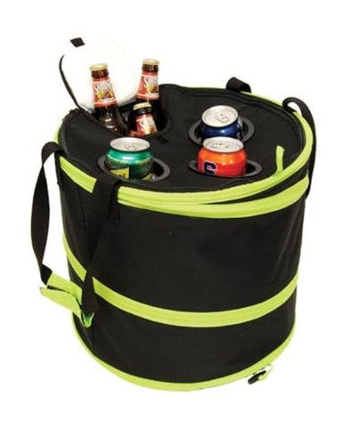 Pop Up Cooler With Drink Holders