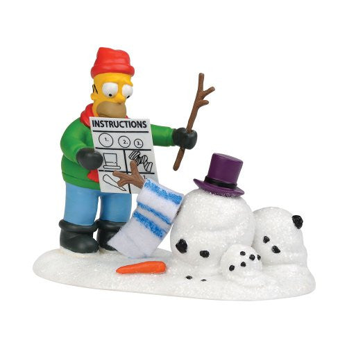 Department 56 How Not To Build Snowman