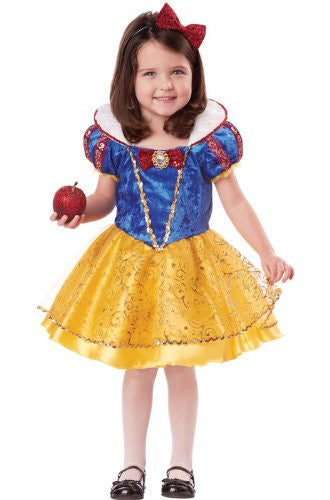 Snow White Deluxe/Toddler - Blue/Yellow (L 4-6)