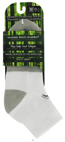 Above Ankle Sports - White, Medium