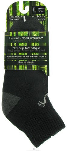 Above Ankle Sports - Black, Large