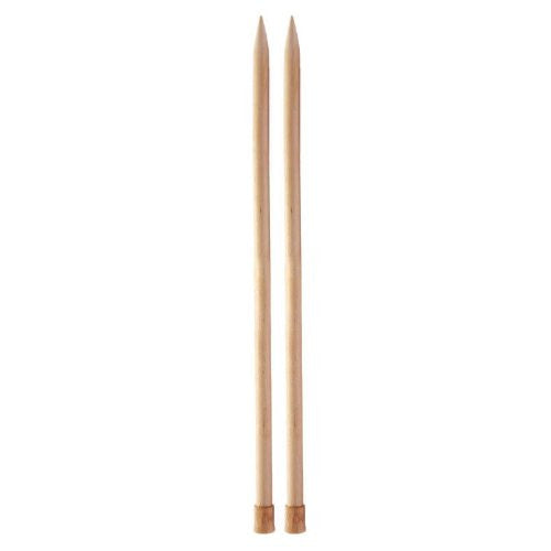 "Basix 14"" Single Point Knitting Needles US 17 (12mm)"