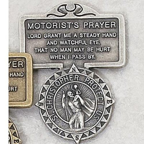 Visor Clip, Motorist Prayer