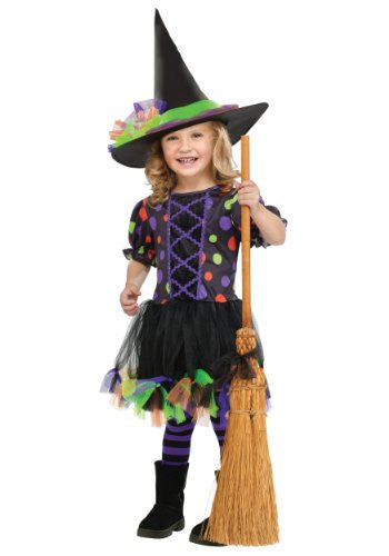 Polka Dot Witch TDLR CSTM Large 3T/4T