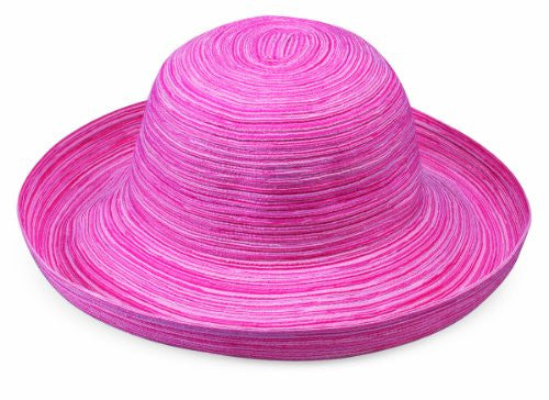 Wallaroo Hat Company Women's Sydney Woven Poly Braid Hat (Pink / One Size)