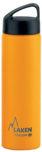 St. steel thermo bottle 18/8  - 0,75L  - Yellow